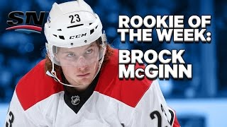 Rookie of the Week: Brock McGinn