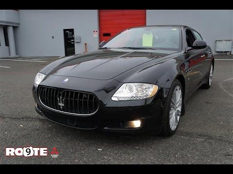 2010 Maserati Quattroporte Sedan - YouTube