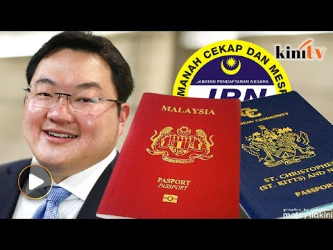Image result for jho low passport