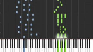 Repeat youtube video Sannin no Dragon Slayer   Fairy Tail [Piano Tutorial] (Synthesia)