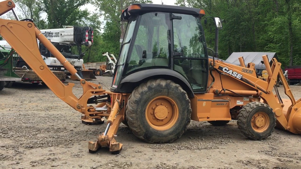 medium resolution of 2006 case 580m 4x4 loader backhoe stock 482