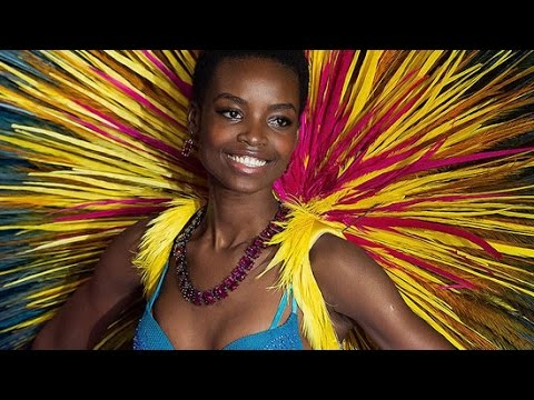 Victoria's Secret Model Maria Borges' Natural Hair Broke The Internet