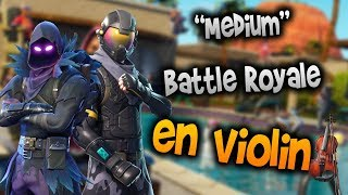Fortnite OST - Battle Royale Menu en Violín|How to Play,Tutorial,Tab,sheet music,Como Tocar|Manukes