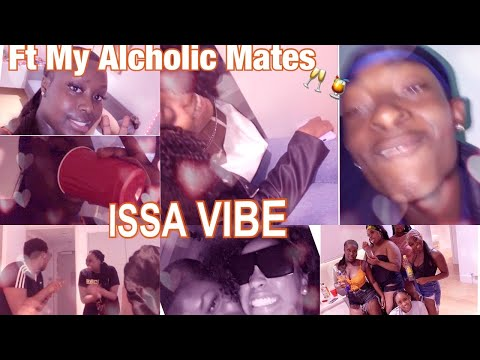 ISSA VLOG #1: LIT QUARANTINE APARTMENT PARTY ft MY ALCOHOLIC FRIENDS