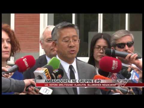 Lu: Votoni drejtësinë! Vlahutin: Bllokohen negociatat - News, Lajme - Vizion Plus