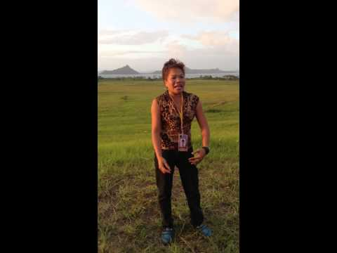 The talented tour guide (natalie baby) in brgy. Talisay, Balud, Masbate