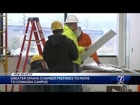 Greater Omaha Chamber prepares to move to Conagra Campus