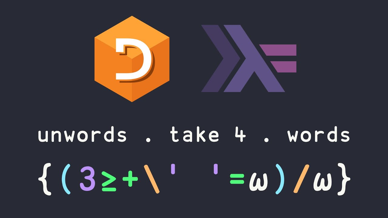 I ❤ APL and Haskell