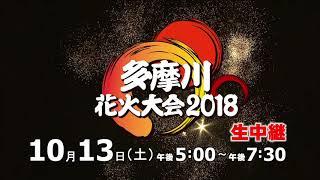 多摩川花火大会2018  生中継
