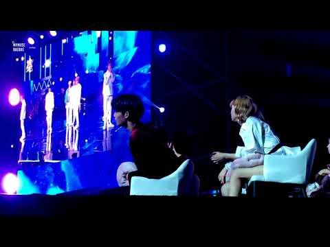 180110 GDA 골든디스크시상식 방탄소년단 BTS무대 리액션-워너원 배진영 Focus