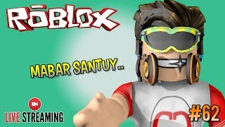 Live Streaming 🔴 #62-MABAR SANTUY FREE GAME #CUPUSKWAD-ROBLOX INDONESIA