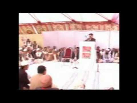 Rubani Qurashi President tehsil kahuta A Tribute to Shaheed Raja M.Riasat on his Rasm E Chehlum