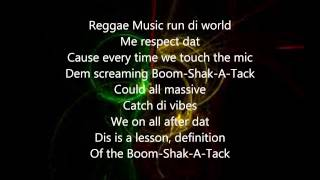 Born Jamericans - Boom Shak ATak Lyrics HQ
