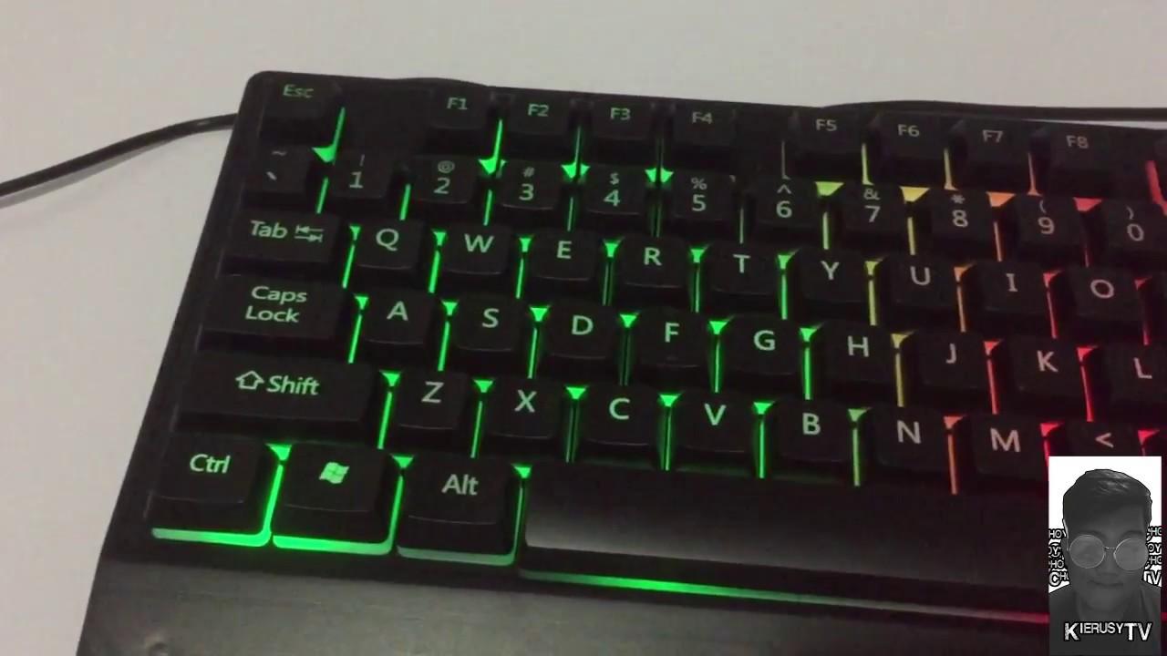 b643bc45083 Zeus M-710 Keyboard + Mouse Combo Ambaksing - YouTube