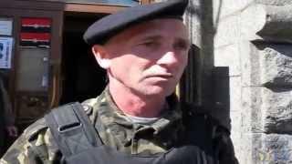 """Боец """"Правого сектора"""": Русские нам не враги"""