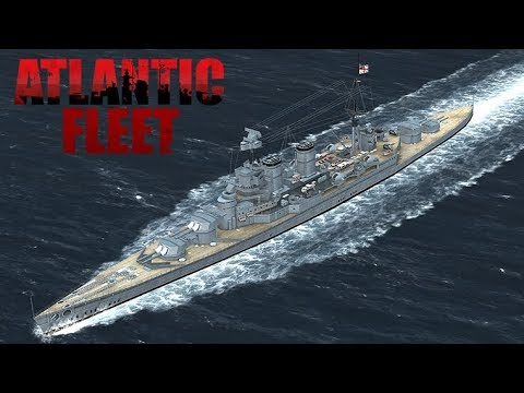 Let's Play Atlantic Fleet [Deutsch/German] BotA Royal Navy #7 Scheiße!