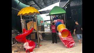 Xưởng sản xuất đồ chơi ngoài trời Hà Huy giá rẻ, uy tín tại Hà Nội