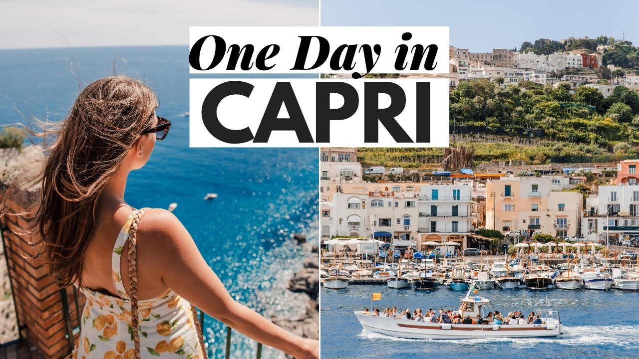 Capri Italy Travel Vlog : How to Spend One Day in Capri