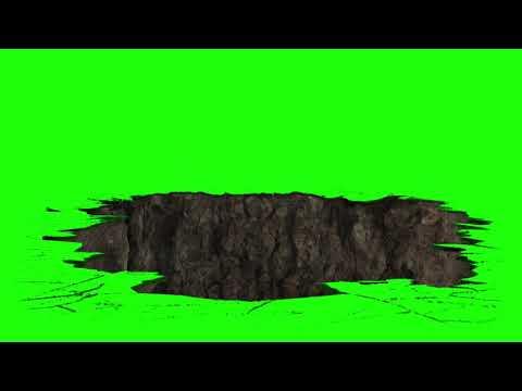 Earthquake \u0026 landslide - Green Screen Effects || YTS.