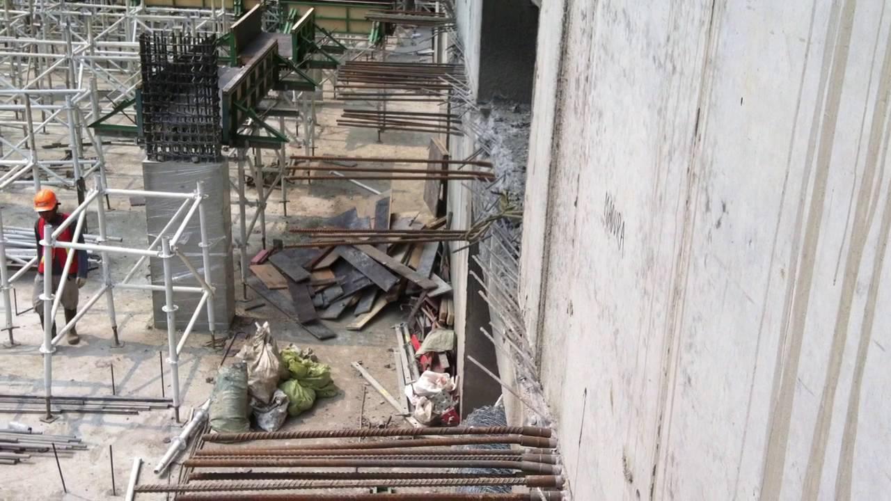 Slurry Wall Construction : D wall diaphragm construction method methodology