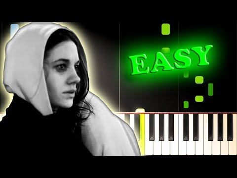 ED SHEERAN  THE A TEAM  Easy Piano Tutorial