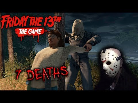 Friday the 13th the game - Gameplay 2.0 - Jason part 2 - 7 Deaths