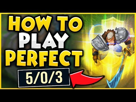 HOW TO PLAY GAREN PERFECTLY IN SEASON 9! WIN EVERY GAME WITH THIS METHOD! - League of Legends