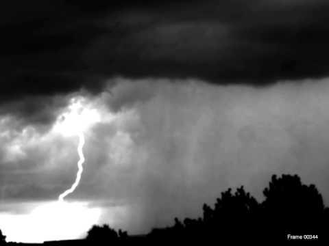 First Return Stroke of a Hybrid Lightning Flash