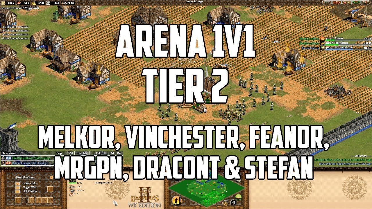 Civ 5 Tier List 2020.1v1 Arena Tier List Tier 2 With Melkor Vinchester Feanor Mrgpn Stefan Dracont