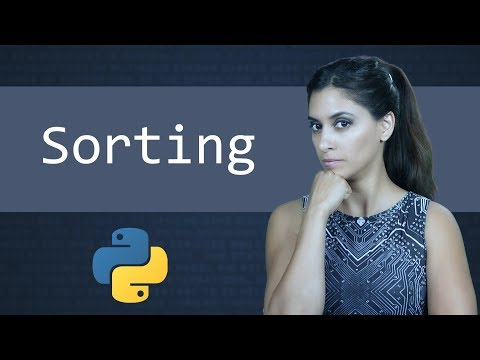 Sorting in Python  ||  Learn Python Programming  (Computer Science)