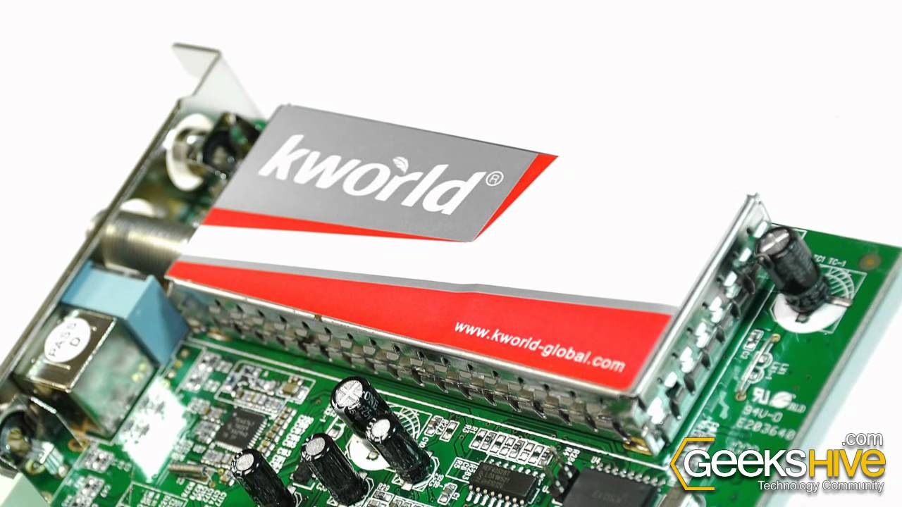 KWorld PRV-TV 7135RF TV Card HyperMedia Center Treiber Windows XP