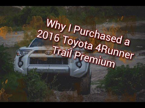 Toyota 4runner trail premium vs trd pro