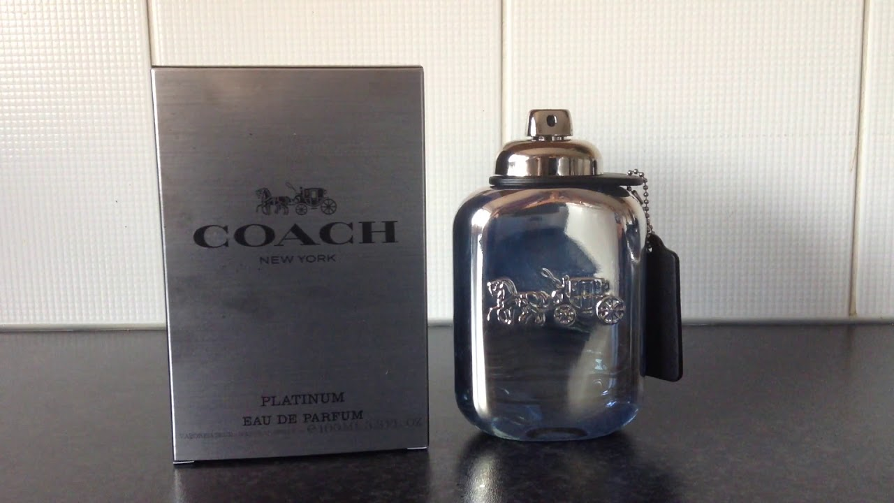 Coach New York Platinum For Men Edp Early Impressions Youtube