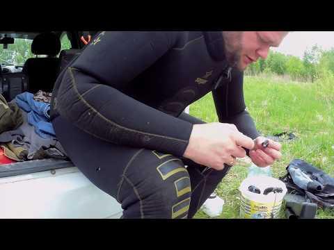 Как заклеить гидрокостюм за 2 минуты в походных условиях