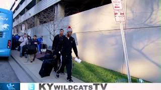 Kentucky Wildcats TV: Team Arrives in Nashville