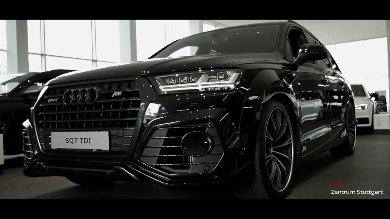 the beast unser audi abt sq7 youtube. Black Bedroom Furniture Sets. Home Design Ideas