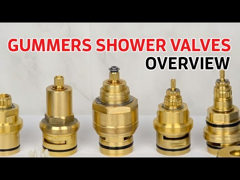 Quick Guide: Overview of Gummers shower valves - YouTube