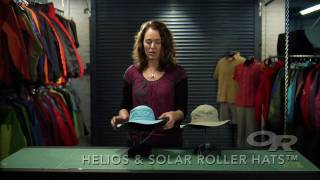 Outdoor Research Helios Sun Hat and W's Solar Roller Sun Hat