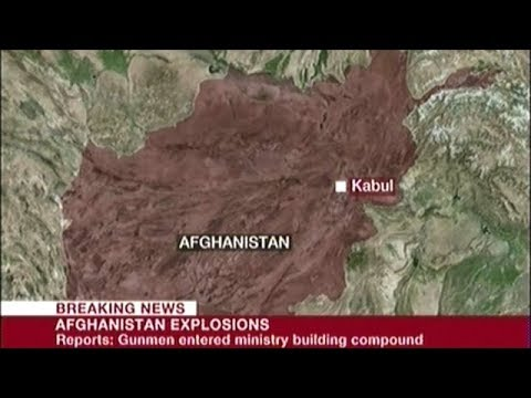 Report Of Explosions And Gunmen At Government Ministries Buildings In Kabul Afghanistan