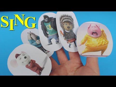 Sing Song Finger Family Nursery Rhymes For Kids Youtube