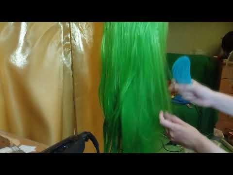 Как правильно привести парик в порядок [tutorial]