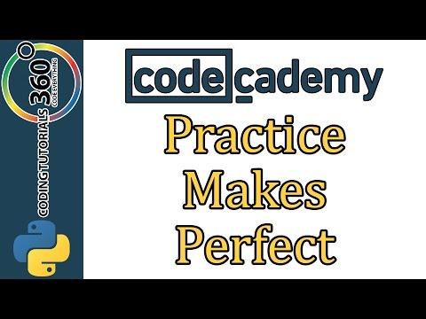 Learn Python with CodeCademy: Practice Makes Perfect