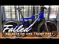 Iron Horse Warrior 3.1 Mountain Bike from Walmart - Overview and issues