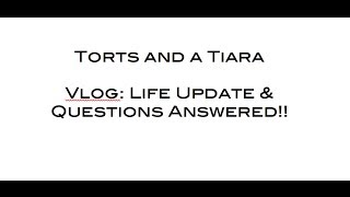 Vlog: Life Update & Questions Answered!! (November 2013) Thumbnail
