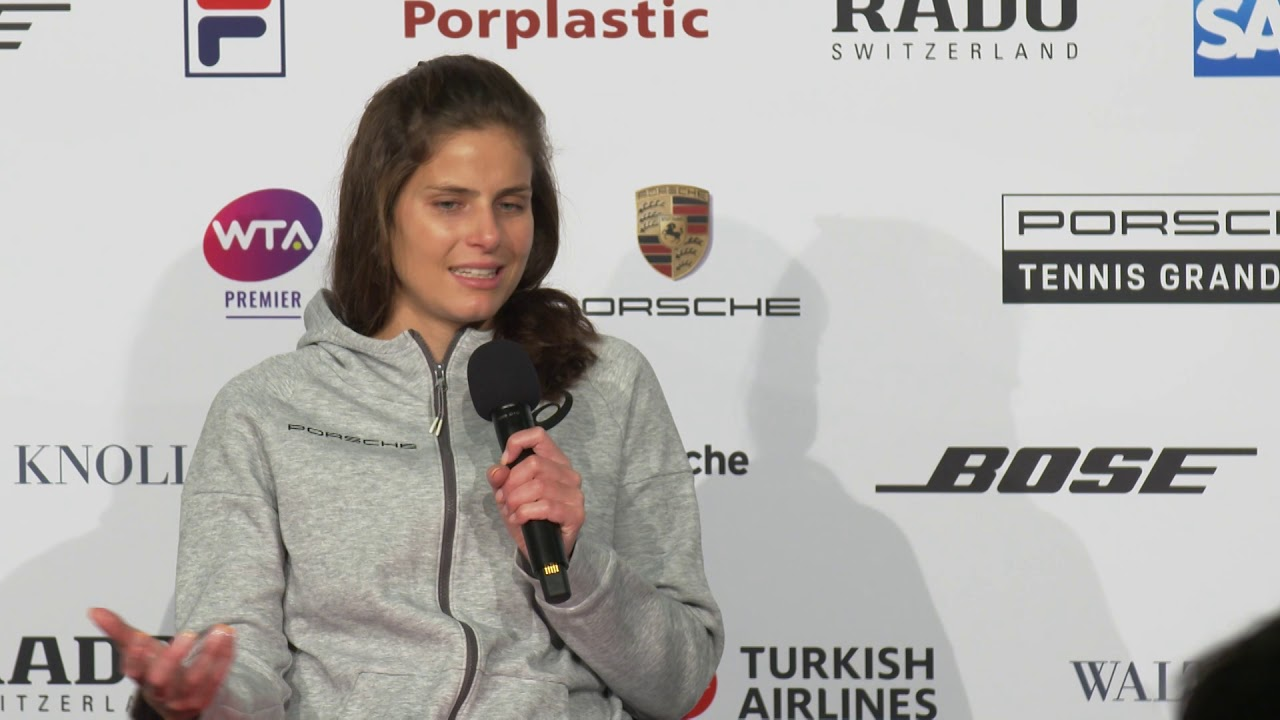 Interview Julia Goerges Ger Porsche Tennis Grand Prix 2019