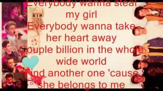 One Direction-Steal My Girl (Lyrics +Photos)