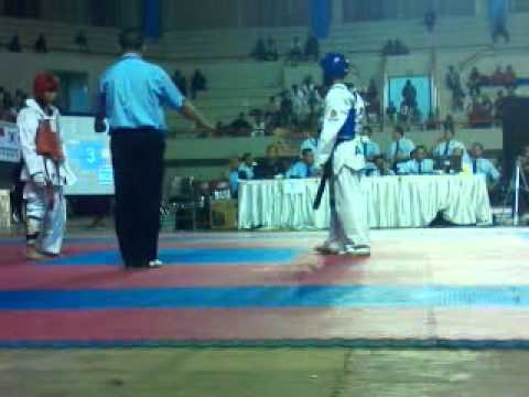 Aceh Vs Jateng Final Kejurnas Under 45Kg