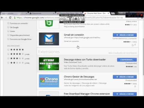 Tutorial de como descargar vídeos de cualquier pagina WEB