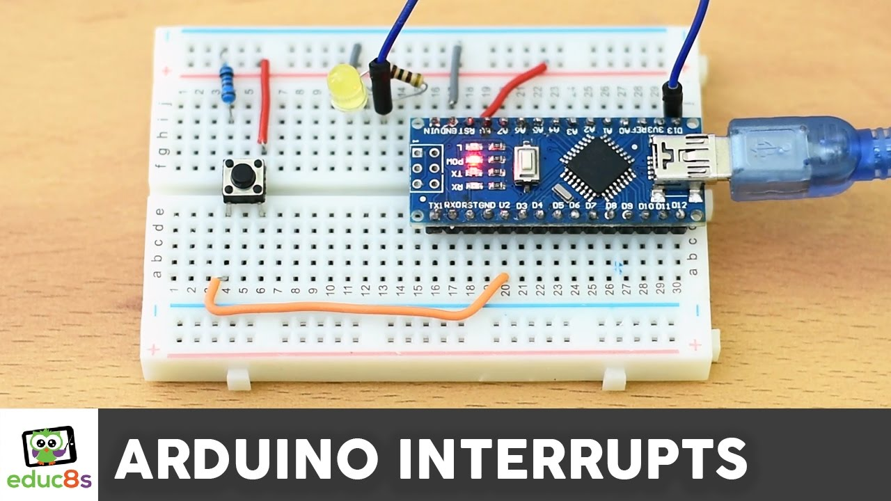Arduino interrupts tutorial youtube