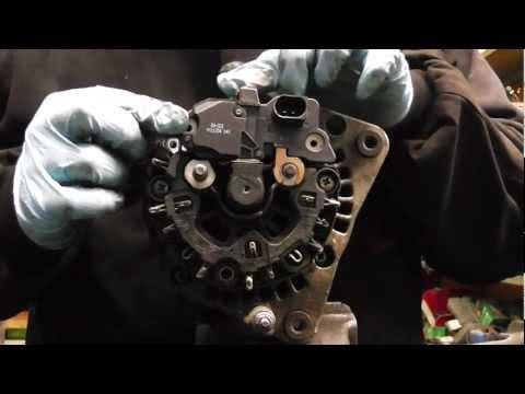 VW Audi Seat Skoda,alternator not charging diagnose and repair PART1